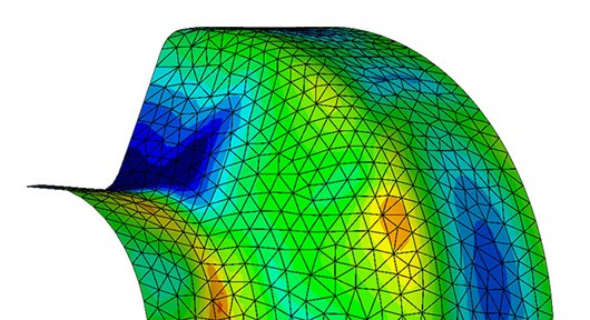 GOM Correlate Features Validation of numerical simulations
