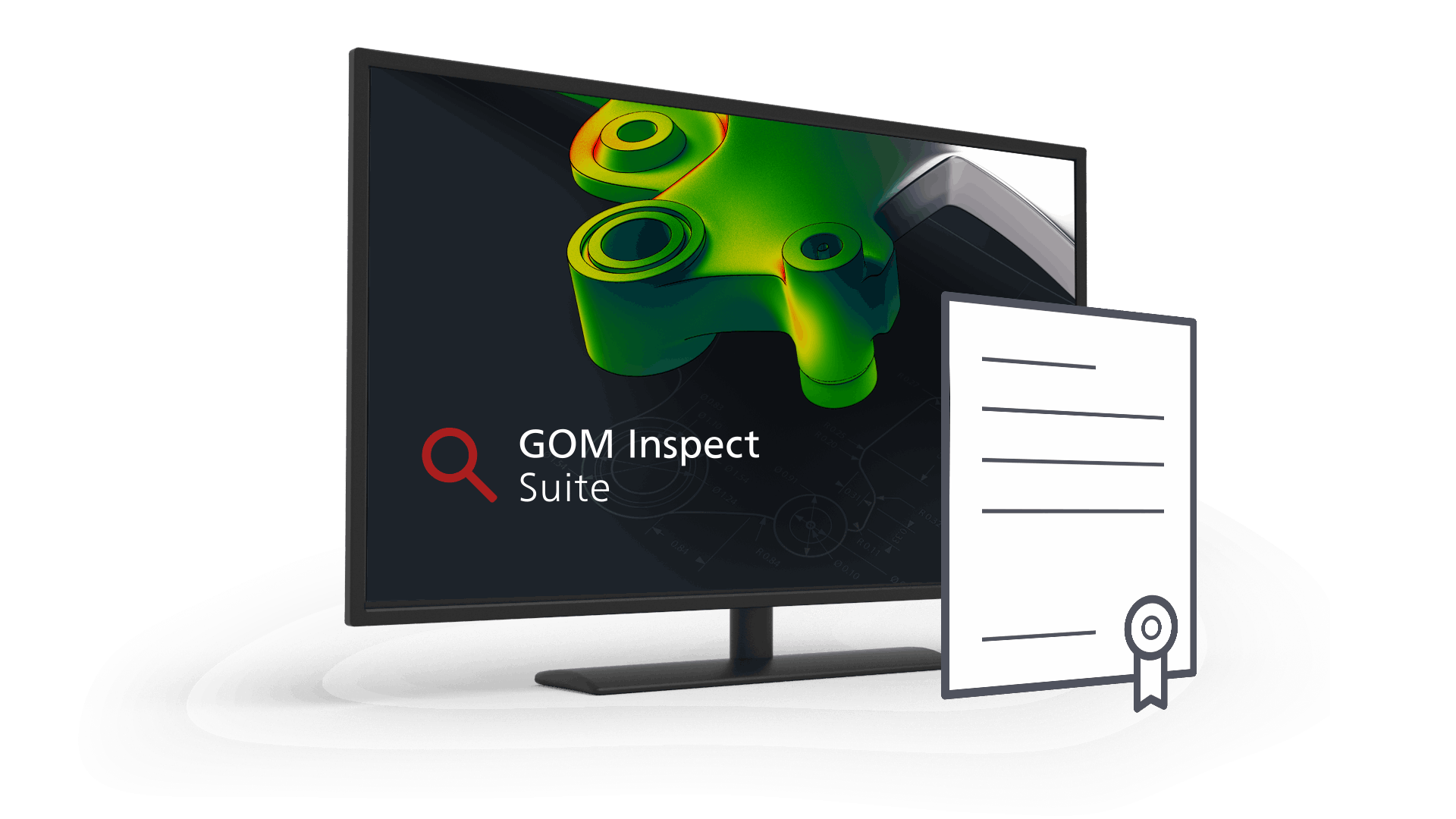 GOM Inspect Suite Tested high precision
