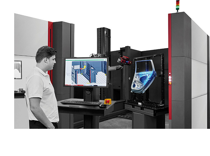 Virtual measuring room gom for Logiciel 3d chambre
