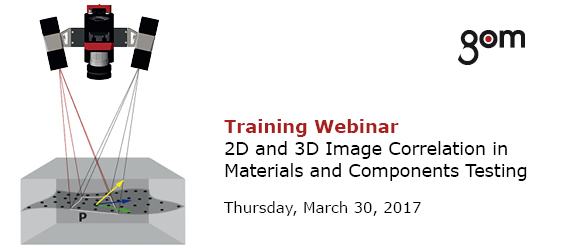Training Webinar - 2D and 3D Image Correlation in Materials