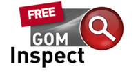 Free GOM Inspect 3D Software